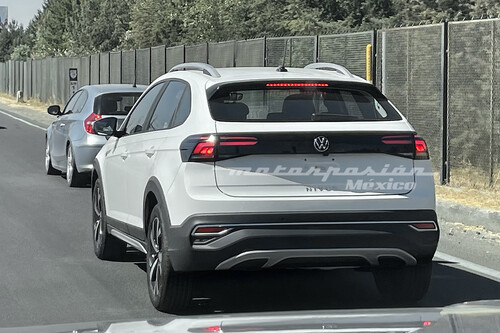¡Espiado! El Volkswagen Nivus ya rueda en México: esto esperamos de motor, tecnología y precio
