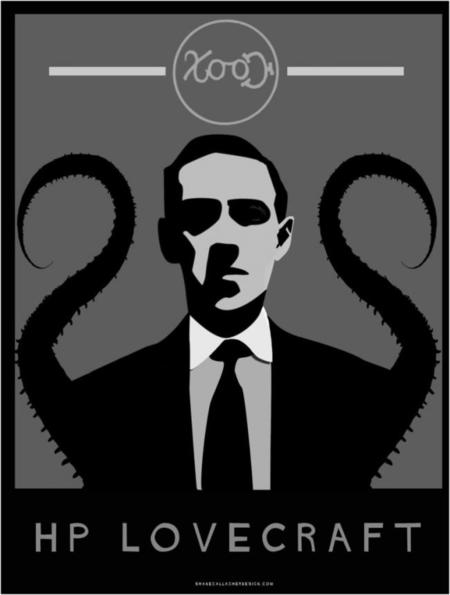 Hp Lovecraft Vector By Shanegallagher D6ixxg3