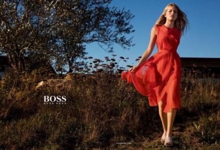La naturalidad es la seña de Hugo Boss en su campaña Primavera-Verano 2016, ¡con Anna Ewers!