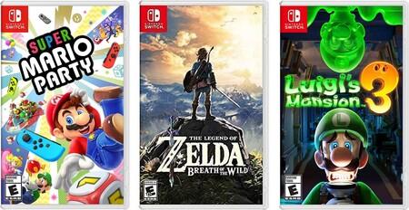 Juegos para Nintendo Switch con descuento en Amazon México