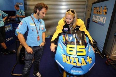 Elena Myers se subirá a una MotoGP en Cheste