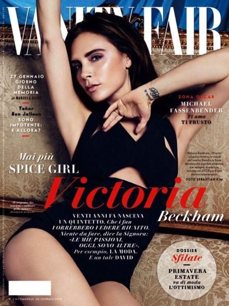 Victoria Beckham le coge el gusto (de nuevo) a salir en portada, esta vez en un 2x1 para Vanity Fair