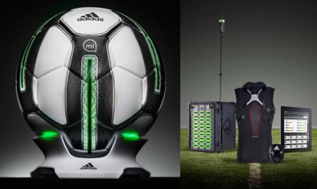 Adidas Smart Ball y miCoach Elite. Sí, en 2014 también utilizarás el iPhone para entrenar al fútbol