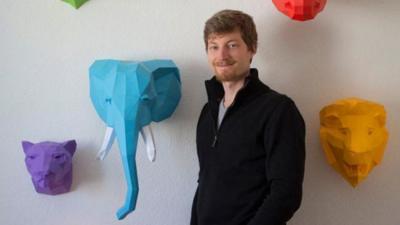 Papercraft Animales Series, las esculturas de papel de PaperWolf