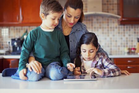 Niños tablet Norton