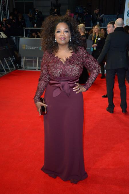 Oprah Winfrey BAFTA 2014