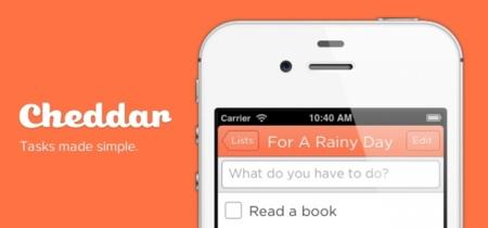 Cheddar, el gestor de tareas que quiere conquistar iOS: a fondo