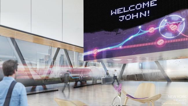 Hyperloop Hotel Estacion