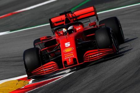 Vettel Barcelona F1 2020
