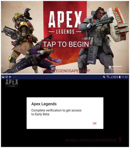 Apex Legends Fake