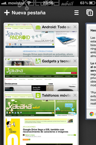 Foto de Google Chrome en iOS (14/15)