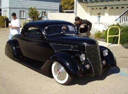 El coche de Kirk Hammett