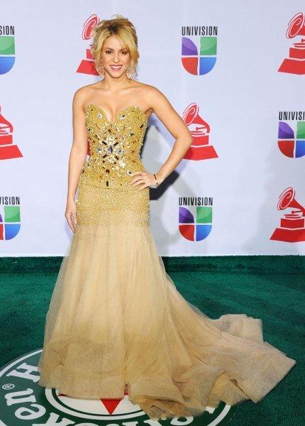 El look de Shakira en los Grammy Latinos