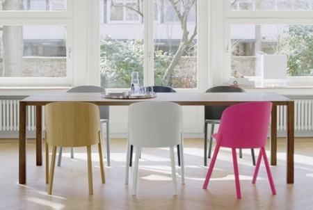 silla rosa neon 1