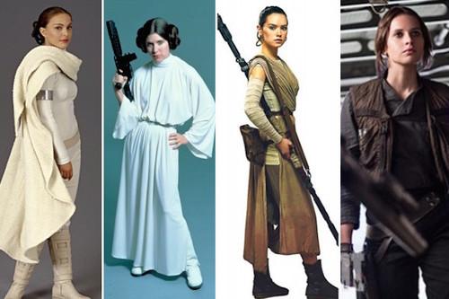 Que la Fuerza nos acompañe (o el feminismo en Star Wars)