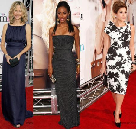 La alfombra roja de la premiere The Women