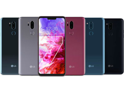 El LG G7 luce notch y nuevos colores en su última filtración