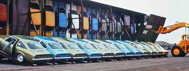 Vert-A-Pac, cuando pareció buena idea transportar coches como quien mete rebanadas de pan en una tostadora