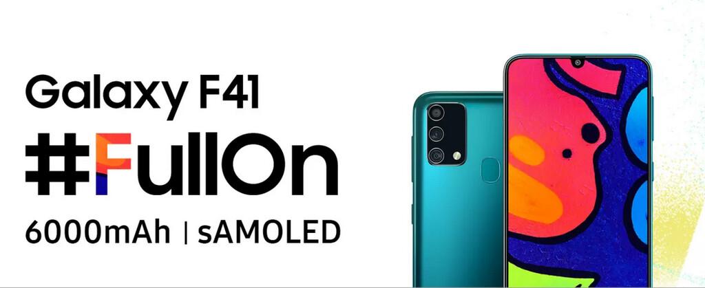 Samsung Galaxy™ F41 verá la luz el ocho de octubre con alguna gran batería y monitor Super AMOLED