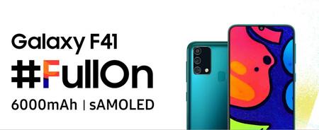 El Samsung Galaxy F41 verá la luz el 8 de octubre con una gran batería y pantalla Super AMOLED
