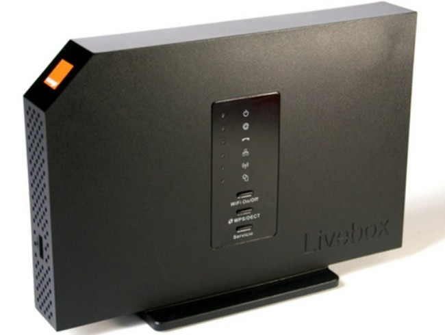 orange lanza su nuevo router multimedia livebox con wifi ac. Black Bedroom Furniture Sets. Home Design Ideas