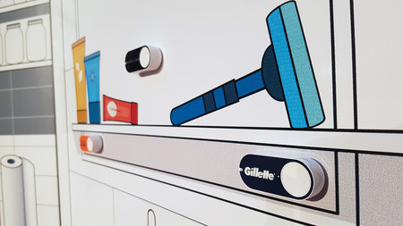 Amazon Dash Button Gillette