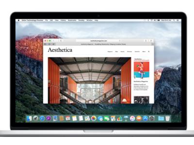 Ya se puede descargar Safari Technology Preview 4 para OS X