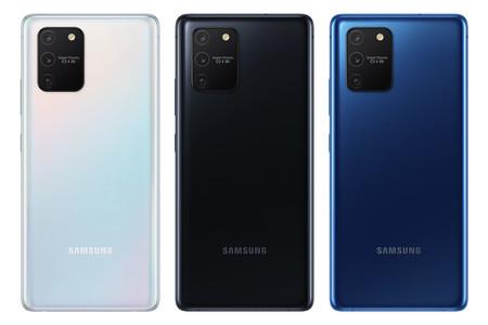 La cámara triple del Samsung Galaxy S10 Lite