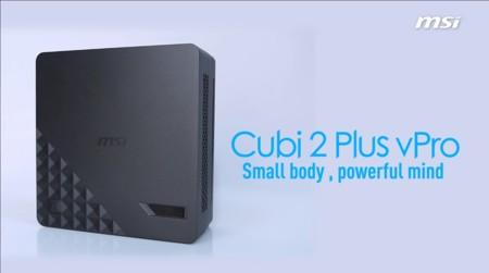 MSI también usa motherboards mini-STX para los sistemas compactos Cubi 2 Plus