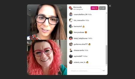 Instagram sigue mejorando su versión web: tras los DM, los directos también pasan a estar disponibles en el navegador