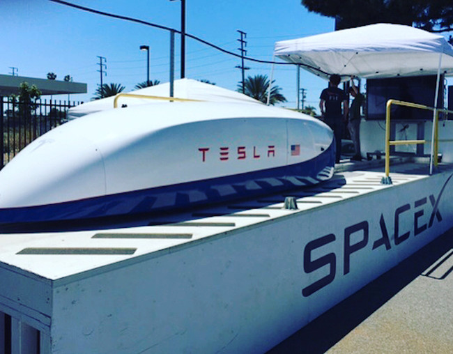 Tesla Hyperloop