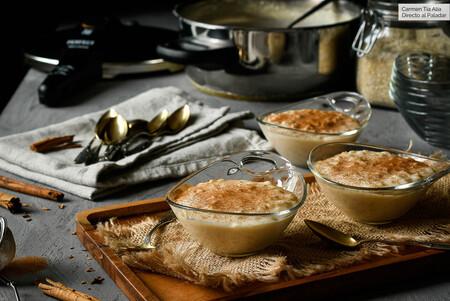 Arroz con leche cremoso en 15 minutos, receta de Claudia Ferrer (en olla súper rápida)