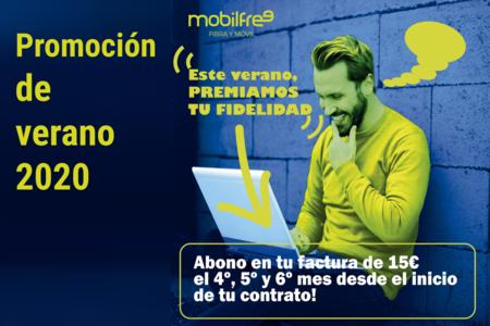 Mobilfree descontará 45 euros como promoción de verano a sus nuevos clientes con fibra