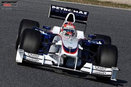 El BMW Sauber con morro de 2009