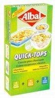 Quick-Tops de Albal, para una mejor conservación de los alimentos.