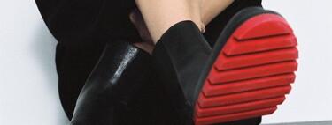 Clonados y pillados: la suela de color rojo de los famosos botines de Bottega Veneta aparece en un diseño de Zara