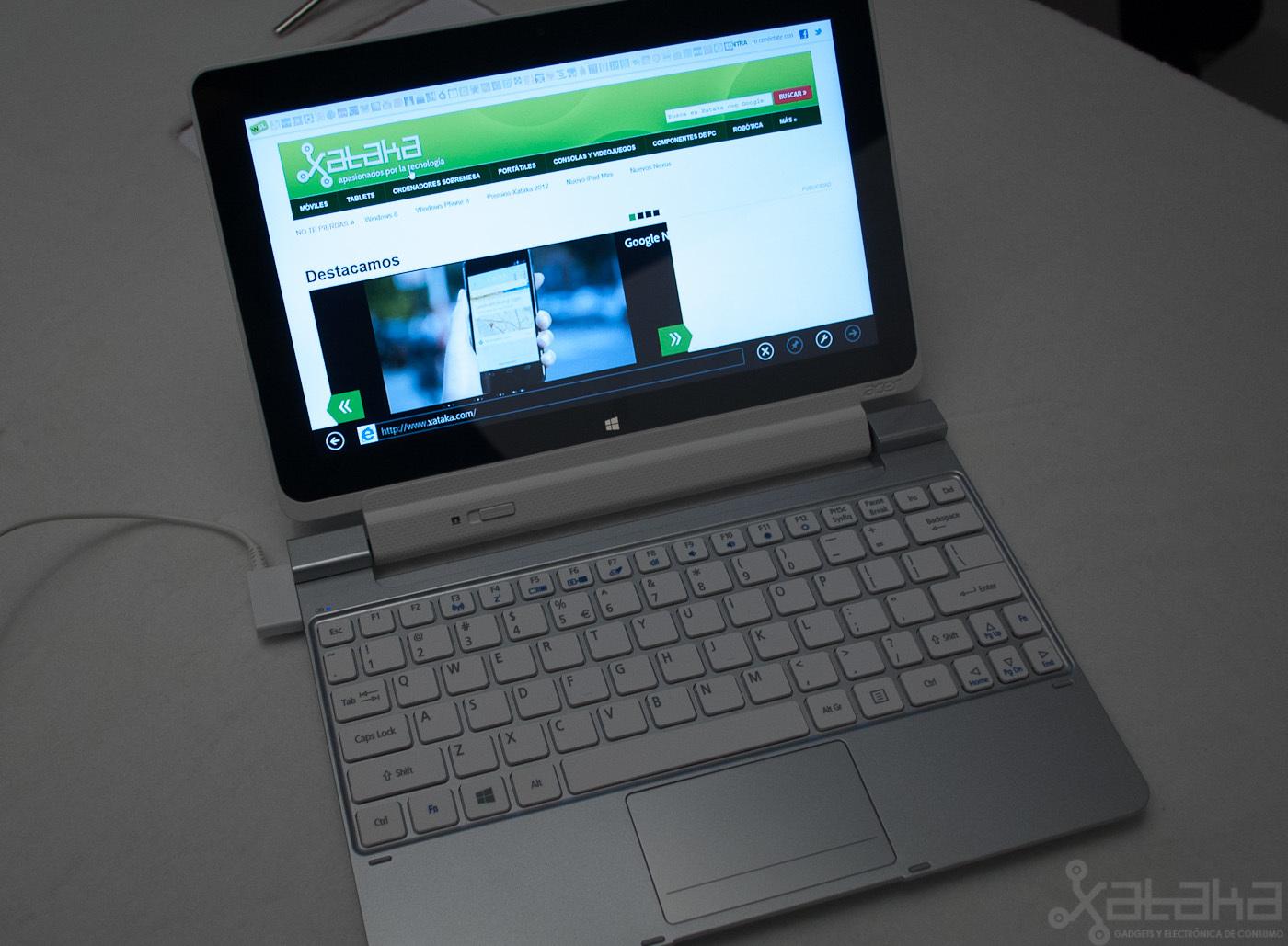 Foto de Acer Iconia W510, primeras impresiones (12/14)