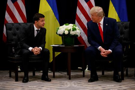 Presidente De Ucrania Trump