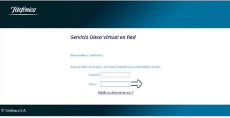 Telefónica lanza el servicio Disco Duro Virtual en Red