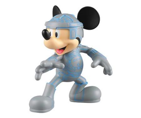 El toy de Mickey Mouse versión Tron