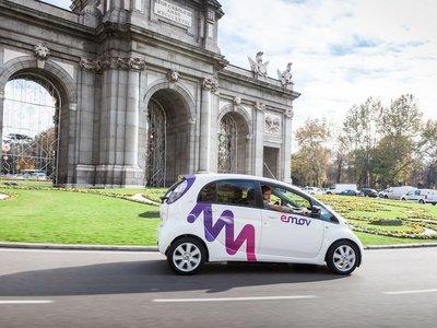 El 'carsharing' de PSA, emov, se estrena en Madrid con 500 Citroën C-Zero