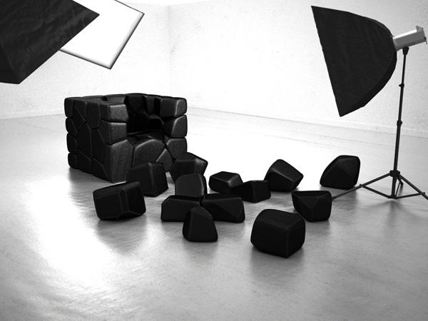 Vuzzle Chair, la butaca personalizable que me encantaría tener