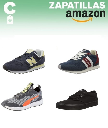 Chollos en tallas sueltas de zapatillas New Balance, Puma o Under Armour en Amazon