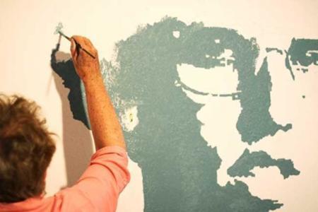Pon un grafiti en las paredes de tu casa