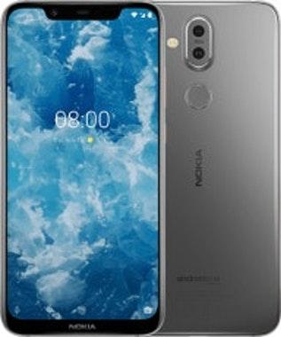 Nokia 8.1 15,7 cm (6.18) 4 GB 64 GB SIM doble Metálico, Acero satinado 3500 mAh