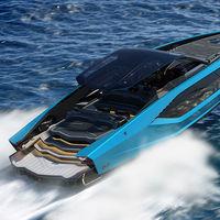 Del asfalto al mar: el Tecnomar Lamborghini 63 es un lujoso yate deportivo de 4.000 CV y tres millones de euros