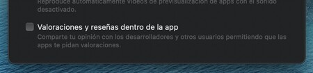 Apple Mac App Store Valoraciones