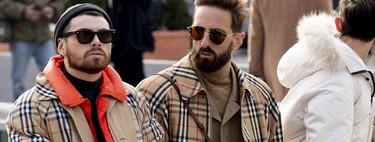 El mejor streetstyle de la semana: las gabardinas y los abrigos camel toman la Pitti Uomo