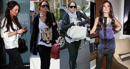 Lindsay Lohan diseñará una línea de leggins