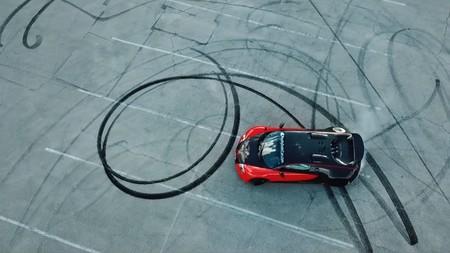Bugatti Veyron Burnout 1